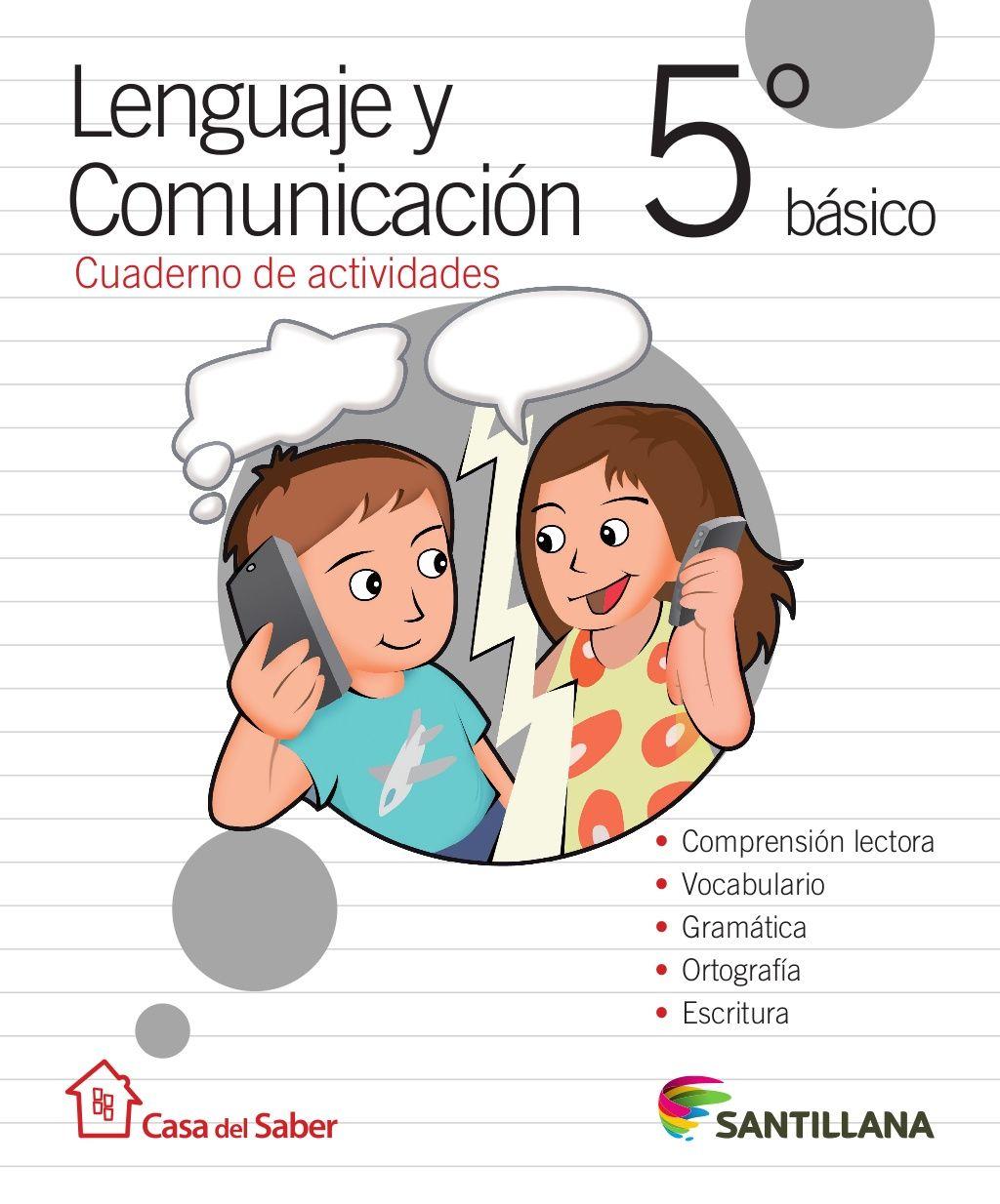 Cuaderno Actividades Lenguaje 5º by Profesora Geovanna via slideshare