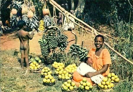Fruit Seller East Africa
