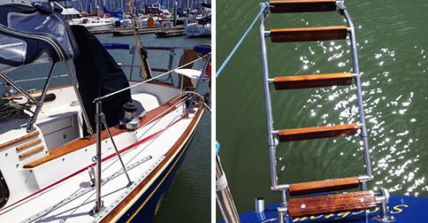 Protect your boat with our Waterlox Marine Finishing System! Here is