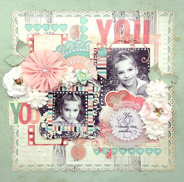 {You} *Glitz Design* - Scrapbook.com