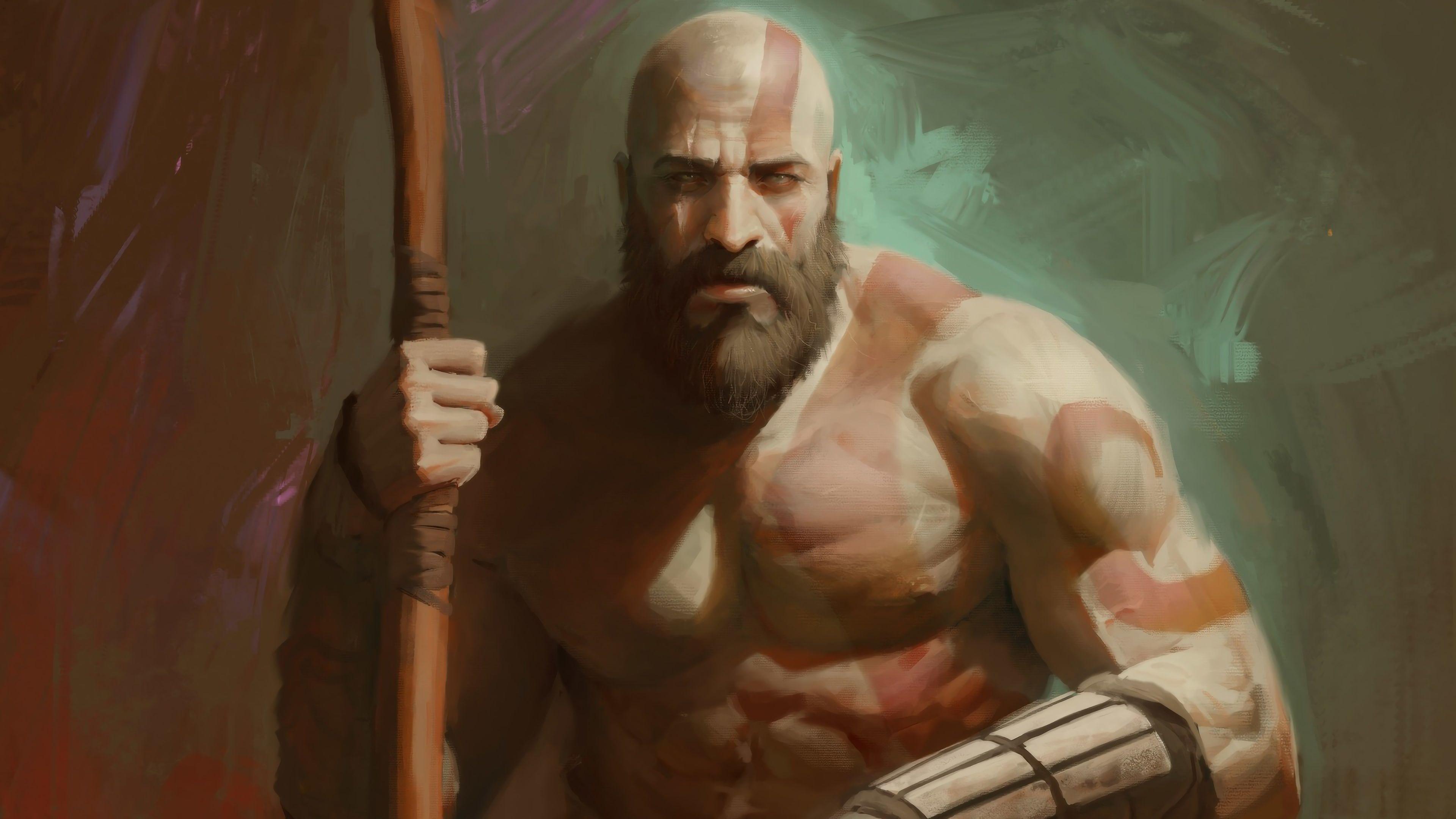 Kratos God Of War 4 Ps4 Video Game 2018 3840x2160