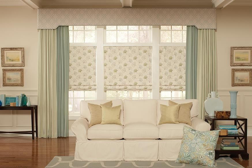 Transitional Window Treatments Lafayette Interior Fashions