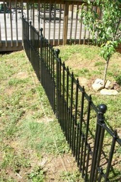 How To Install Empire Fencing From Lowe S Backyard Fences Fence