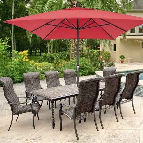 Patio Umbrella Size Guide What To Use For Your E Bbq Guys