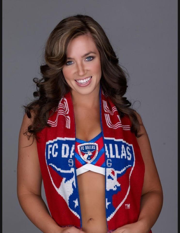 FC Dallas cheerleader