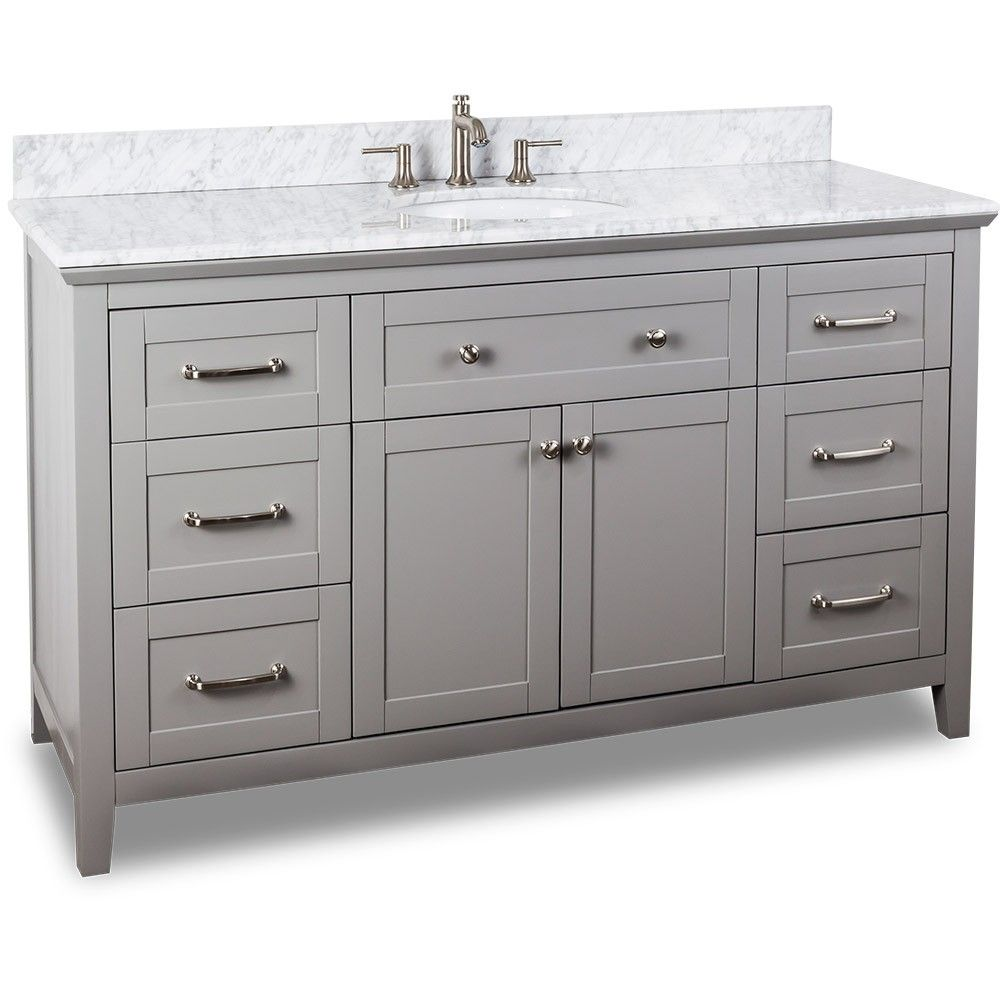 60 Inch Vanity Top Single Sink Center