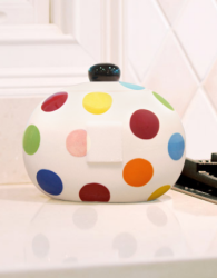 Teachers Gifts - www.yepeddler.com The Happy Everything Mini Cookie jar makes the perfect Teacher Gift!  You can give them the cookie jar at the beginning of the school year and add an attachment for all the fun holidays in between!  Yay for teachers!!!