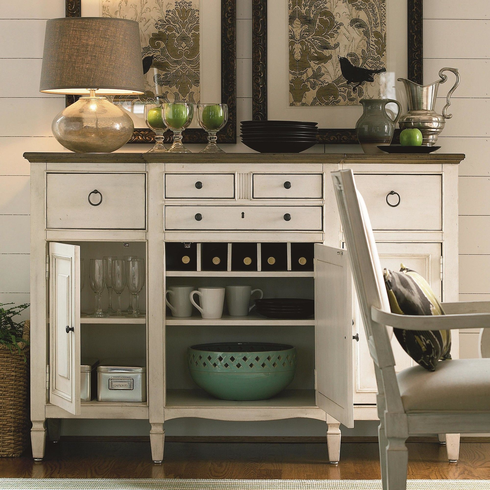 Universal Furniture Summer Hill Serving Buffet U0026 Reviews | Wayfair