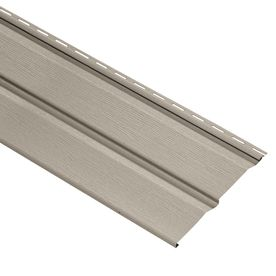 Durabuilt 440 Vinyl Siding Panel Double 5 Dutch Lap Clay 10 In X 144 In Vinyl Siding Dutch Lap Vinyl Siding Dutch Lap
