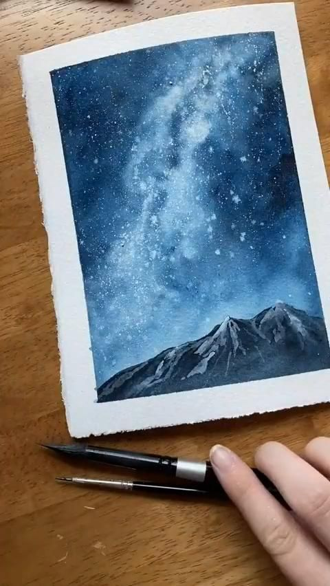 Beautiful Wilderness Watercolor Painting Tutorial