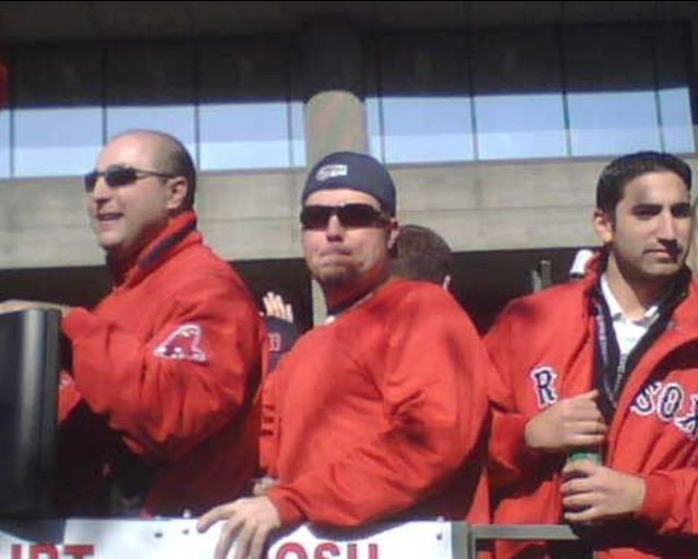 The parade of the 2004 World Series win!!!!