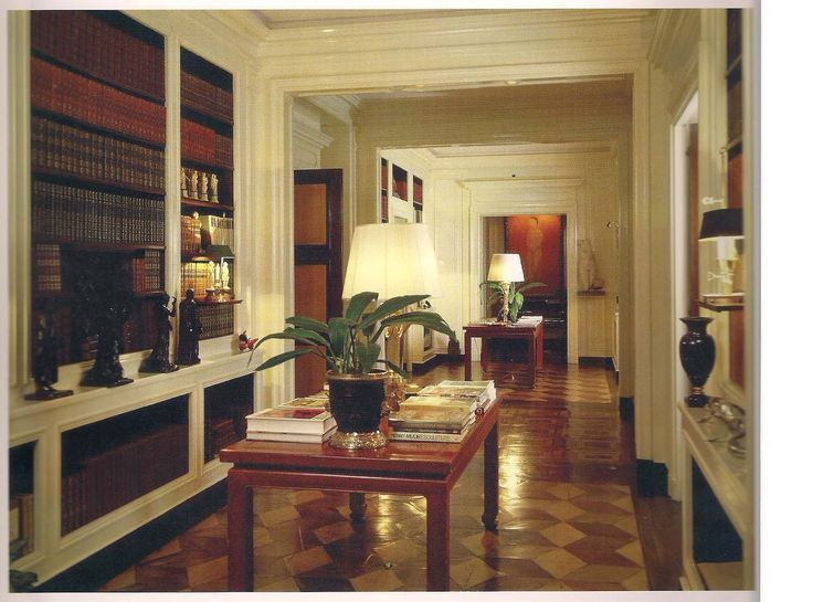 Interior Hallway 1040 Fifth Avenue Jacqueline Kennedy Onassis Nyc Apartment