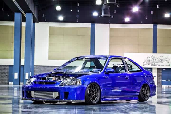 Civic ek si turbo