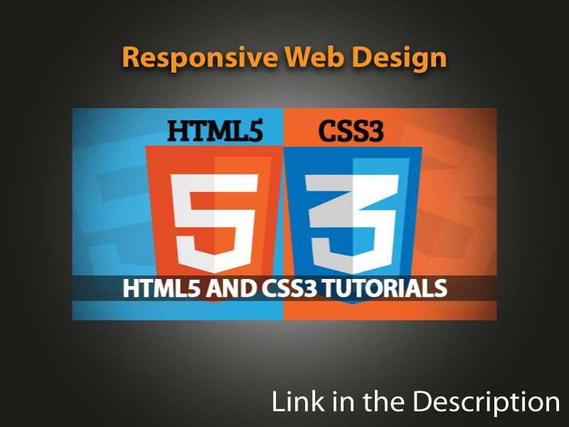 Responsive Web Design With Html5 And Css3 The Other Day I Came Across An Interesting Read By Ben Frain Titled Css3 Tutorial Web Design Web Design Resources