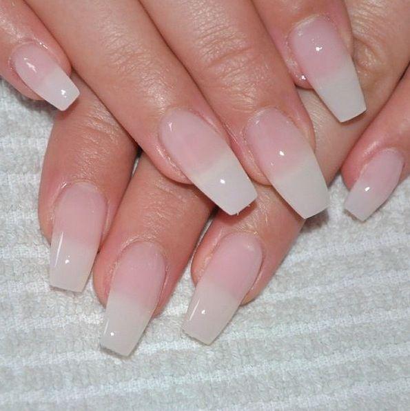 Natural Look Acrylic Nail Shapes Nails Gorgeous Nails