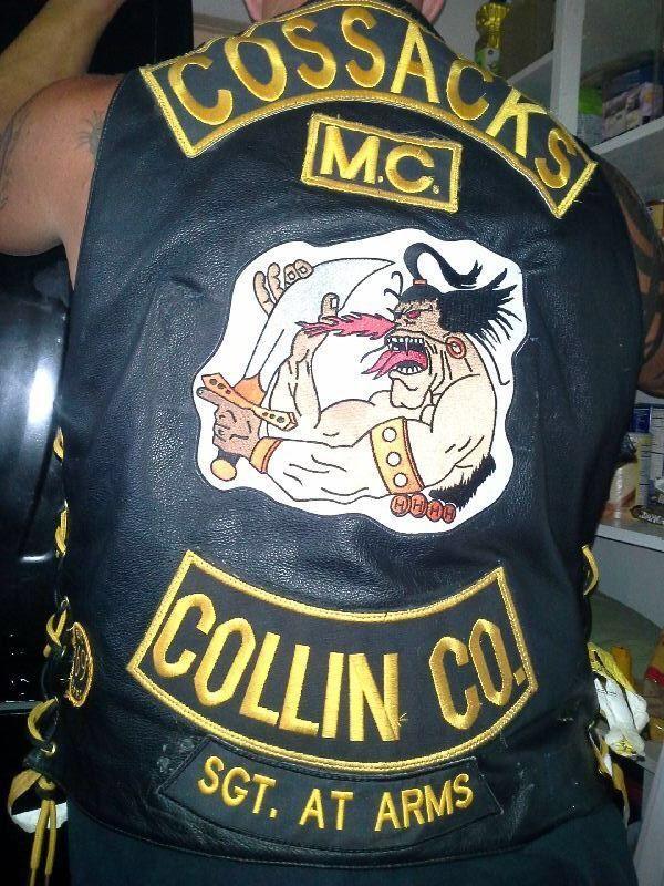 Ride Safe Vest >> Cossacks MC | Motorcycle clubs, Biker clubs, Biker patches ...