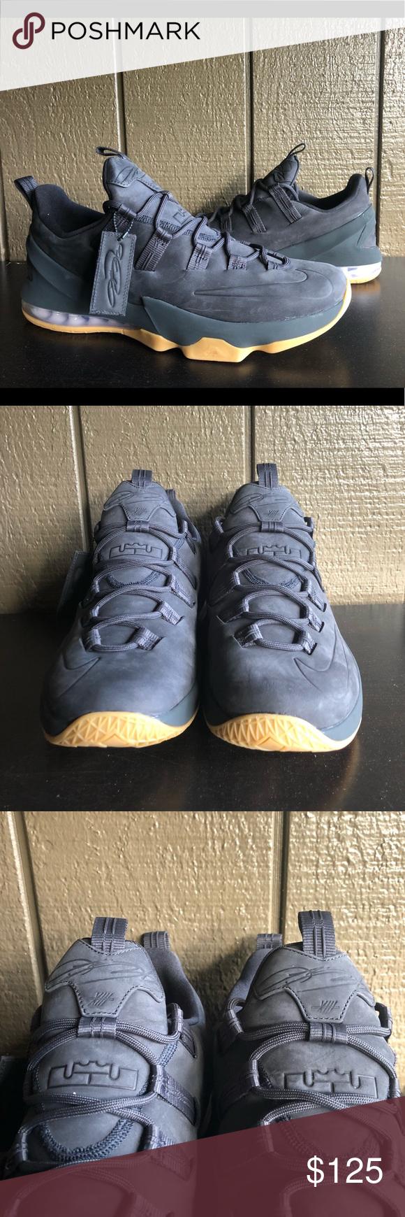 Nike Lebron Xiii Low Prm Anthracite Men S Sz 13 Nike Lebron Xiii Low Prm Premium 13 James Anthracite Men S Ah8289 001 Sz 13 Sneakers Sneaker Head Nike Lebron