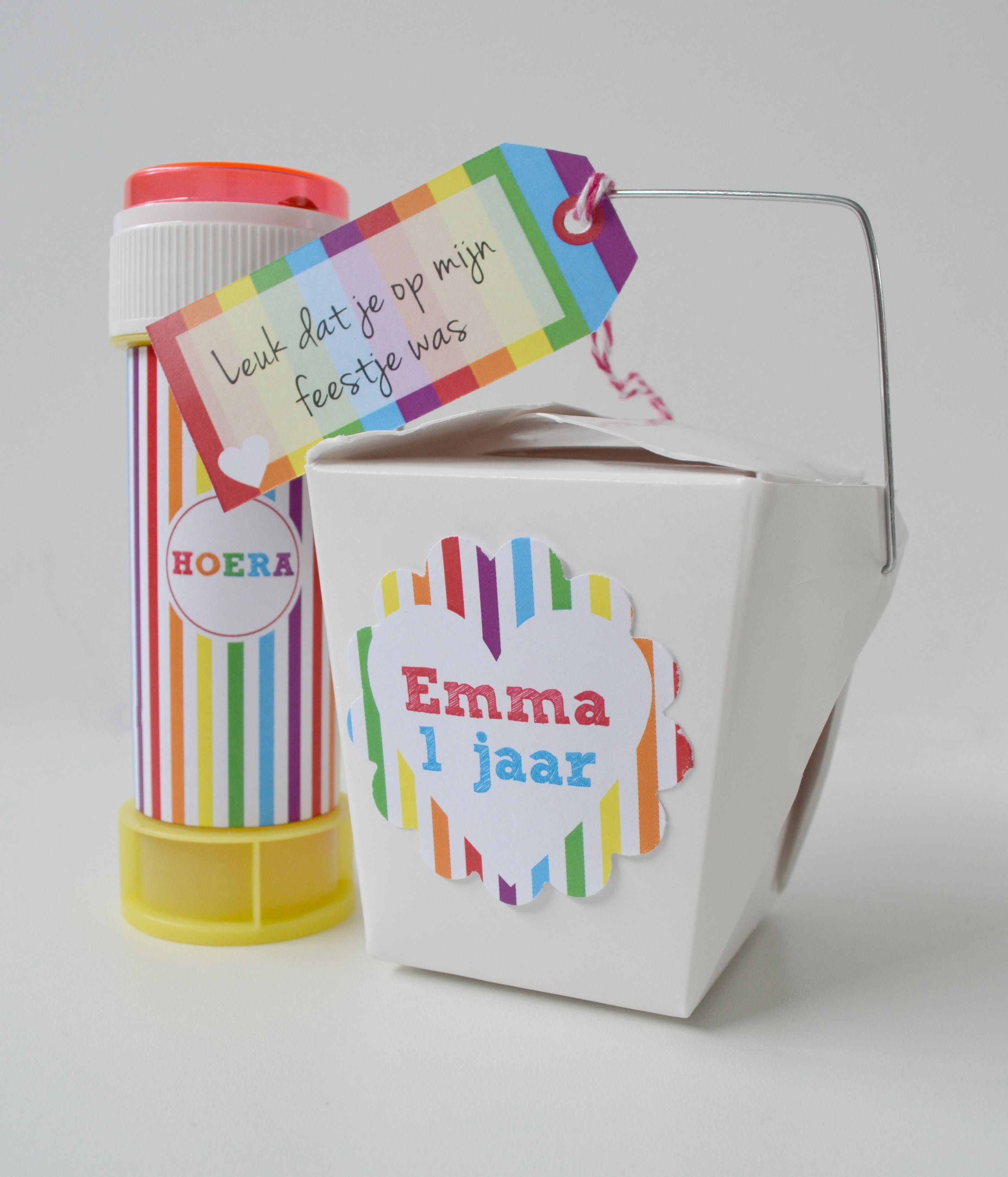 Een leuke #traktatie zijn deze Chinese take away doosjes gevuld met ...