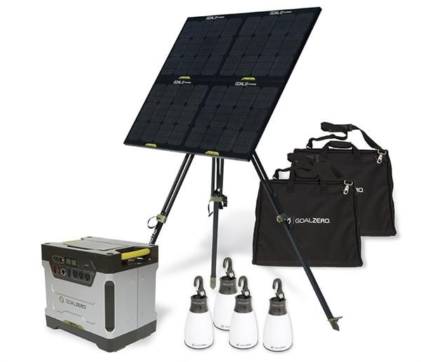 Yeti 1250 Off Grid System Glamping Camping Emergencies Preppers Off Grid System Solar Generator Solar Panel System