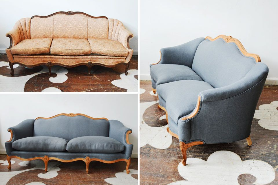 Reupholstering Antique Couch Google Search