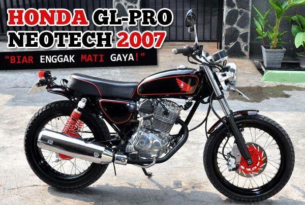 Modif Honda Gl Pro And Max Honda Gl Max Neo Tech Honda Honda Gl