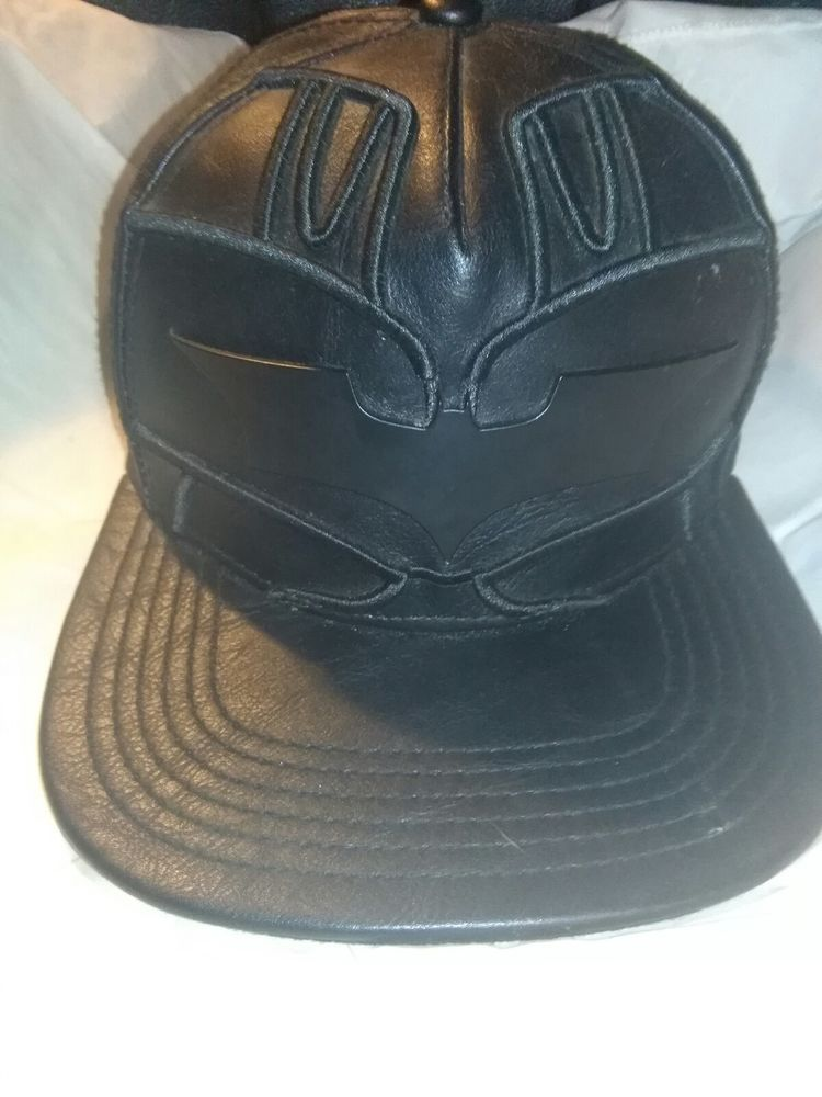 e4b52a63a60 D.C. Comics BATMAN Suit Up Leather SnapBack Hat. NWT. One Size Fits All   fashion  clothing  shoes  accessories  mensaccessories  hats (ebay link)