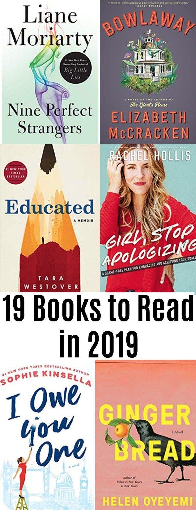 19 Books to Read in 2019 #bookstoread