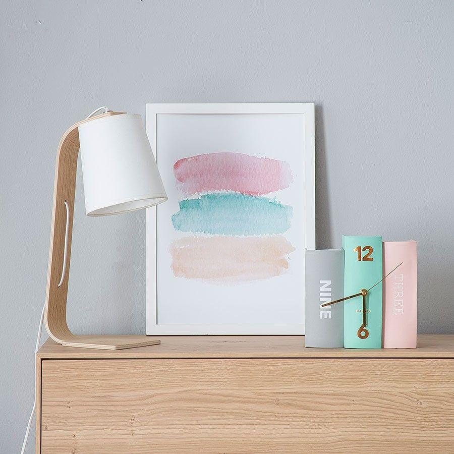 Color pastel l mina l minas decoraci n de unas - Laminas para decorar paredes ...