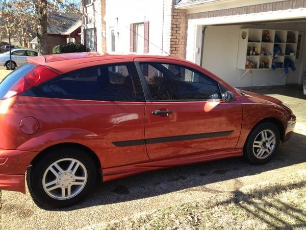 2001 Ford Focus Zx3 3 995