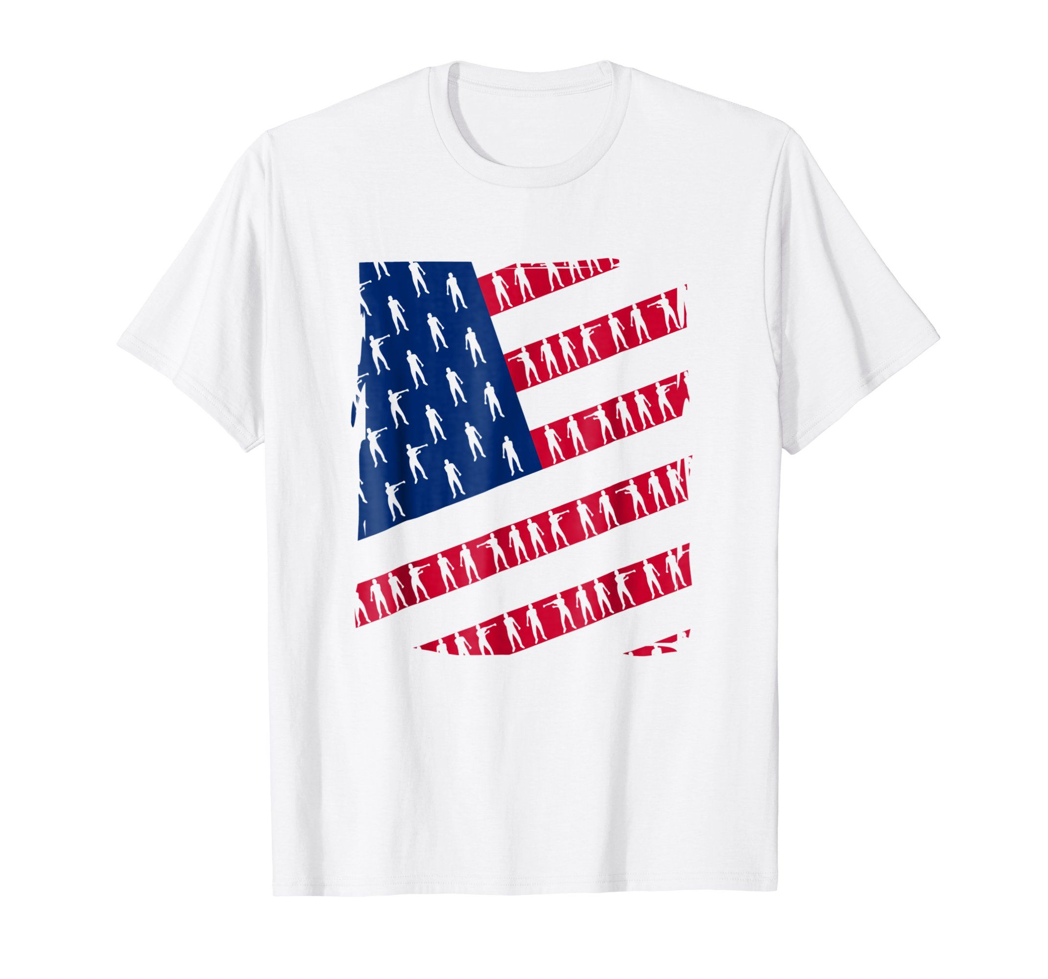 23f7b0b7 Amazon.com: Independence Floss Dance America Flag shirt 4th Of July ...
