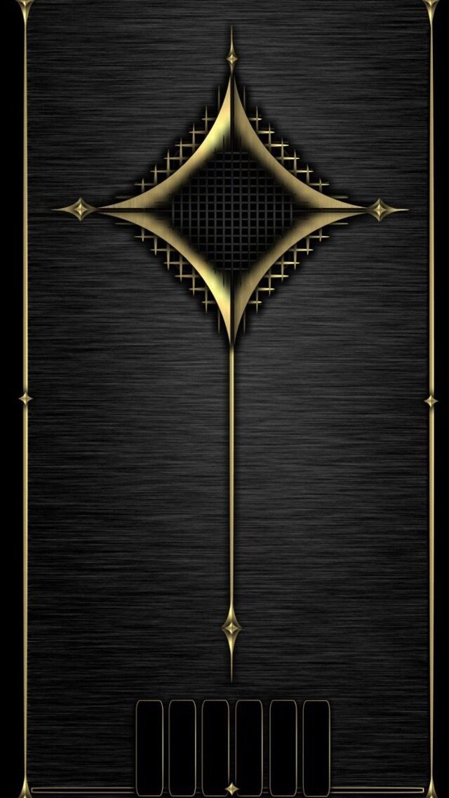 Wallp for iPhone 5S Black wallpaper, Gold wallpaper