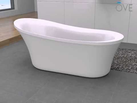 Installation Guidelines For Ove Freestanding Bathtub Series Model