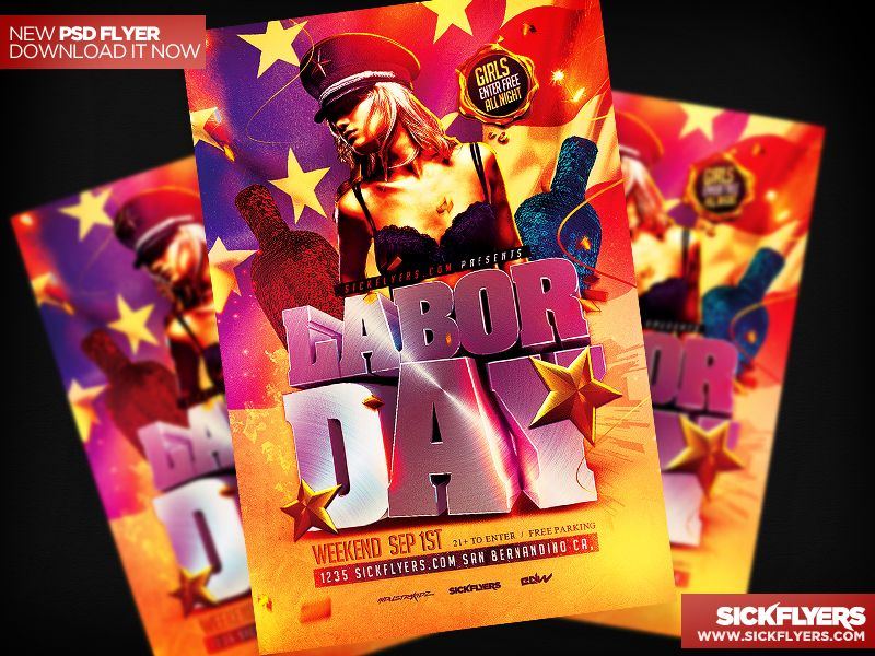 Labor Day Flyer Template by Industrykidzdeviantart on - labour day flyer template