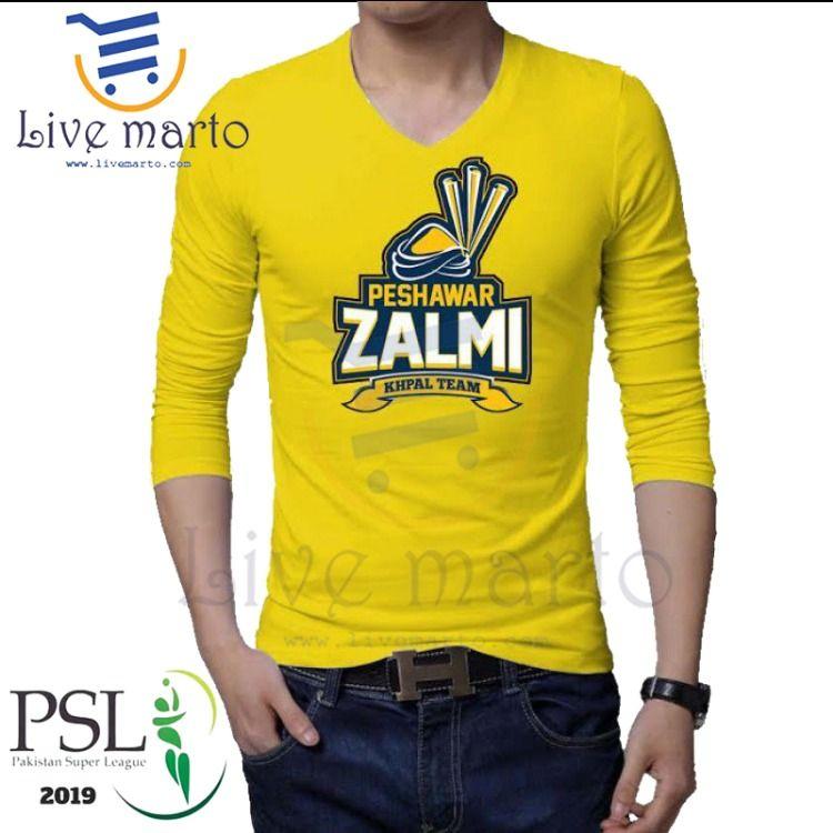 Peshawar Zalmi Full Sleeves TShirt for just Rs 699/ For