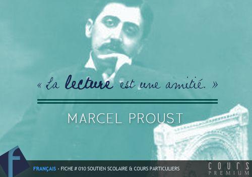 Citation La Lecture Est Une Amitié Marcel Proust