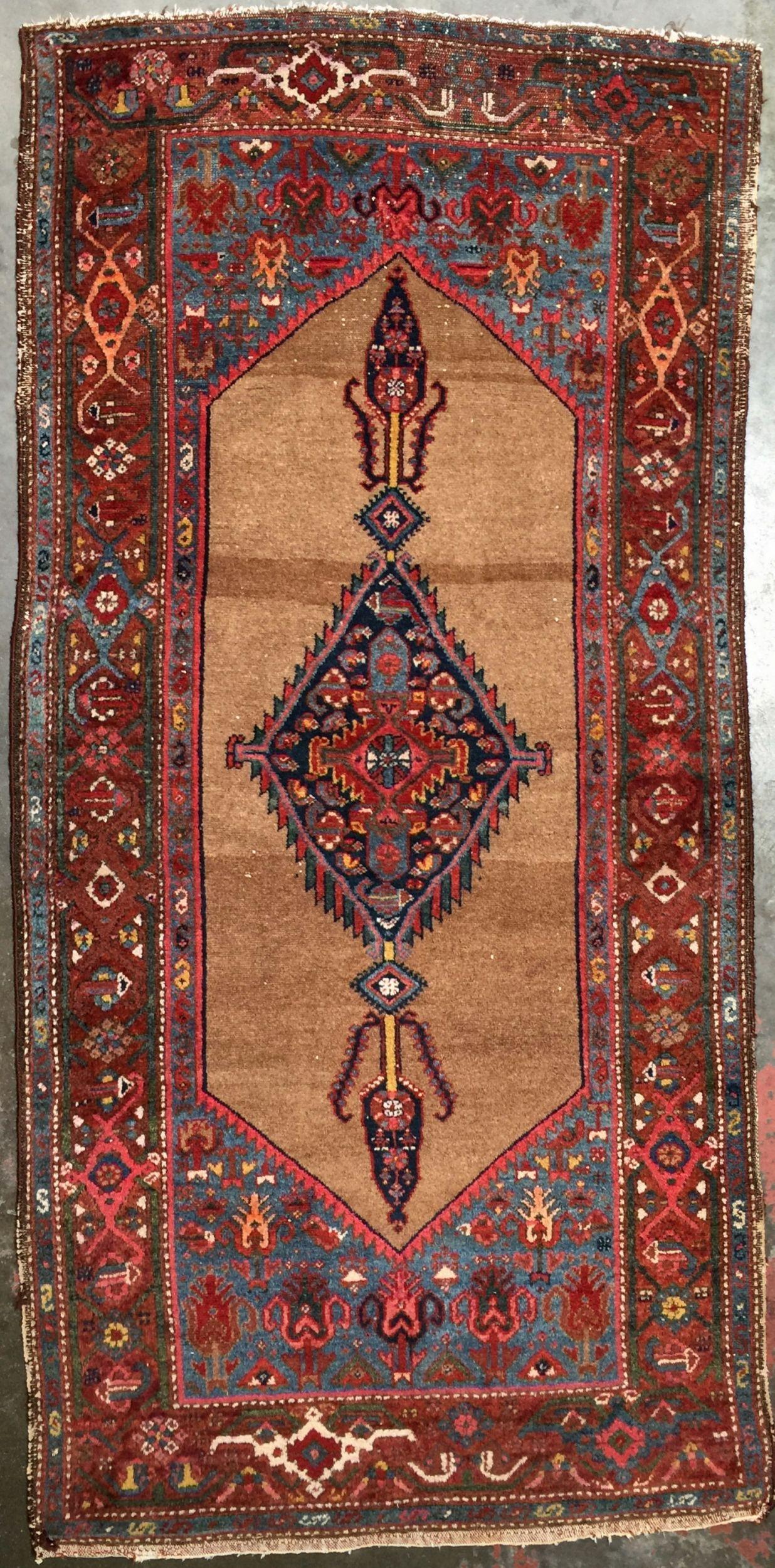 Persian Rug 3 3 X 6 9 Kurdish Tribal Rug Rugs Rugs On Carpet Carpet Runner