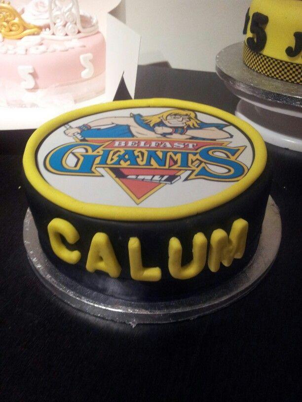 Amazing Belfast Giants Birthday Cake Cake Birthday Cake Funny Birthday Cards Online Inifofree Goldxyz