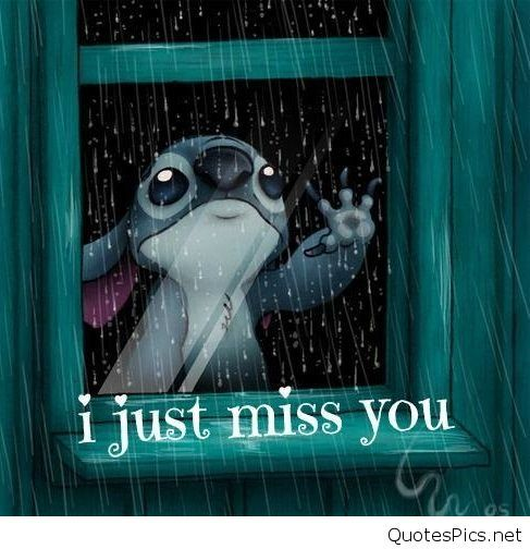 Quotes Pics I just miss you, Lilo and stitch quotes