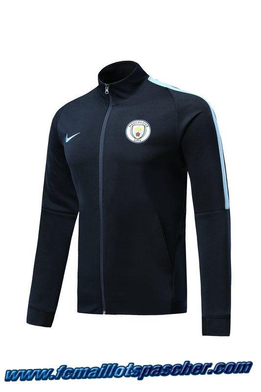Marine Foot De Bleu City Survetement Manchester Club Veste 8Nwnm0