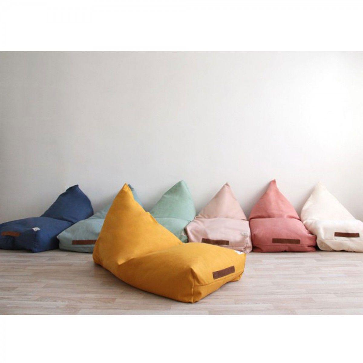 Nobodinoz Oasis Bean Bag In Dolce Vita Pink Sitzsack