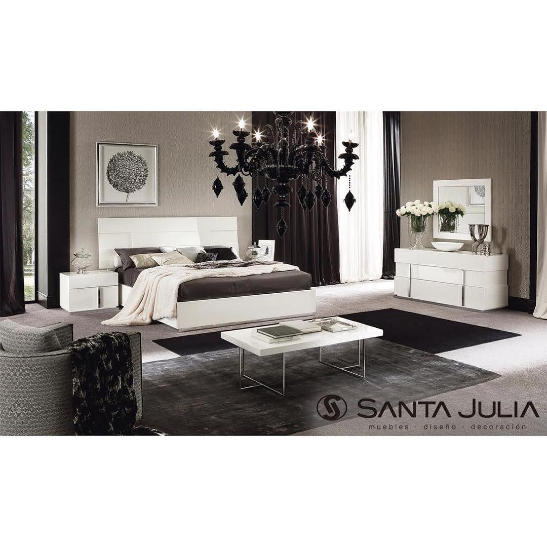 Cama Canova Impecable Cama En Madera Lacada En Blanco Con 9 Capas  # Muebles Cartagena Colombia