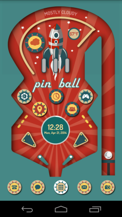 Pinball for Themer Pinball, App design, Mobile app design