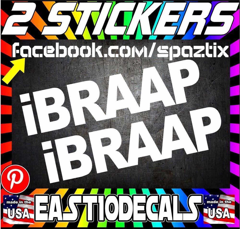 IBRAPP Dirtbike Motorcycle Vinyl Sticker Decal Cheap Stickers - Custom vinyl stickers for cheap