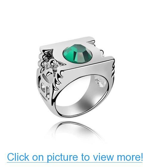 404 Document Not Found Chic Rings Fashion Rings Crystal Rings