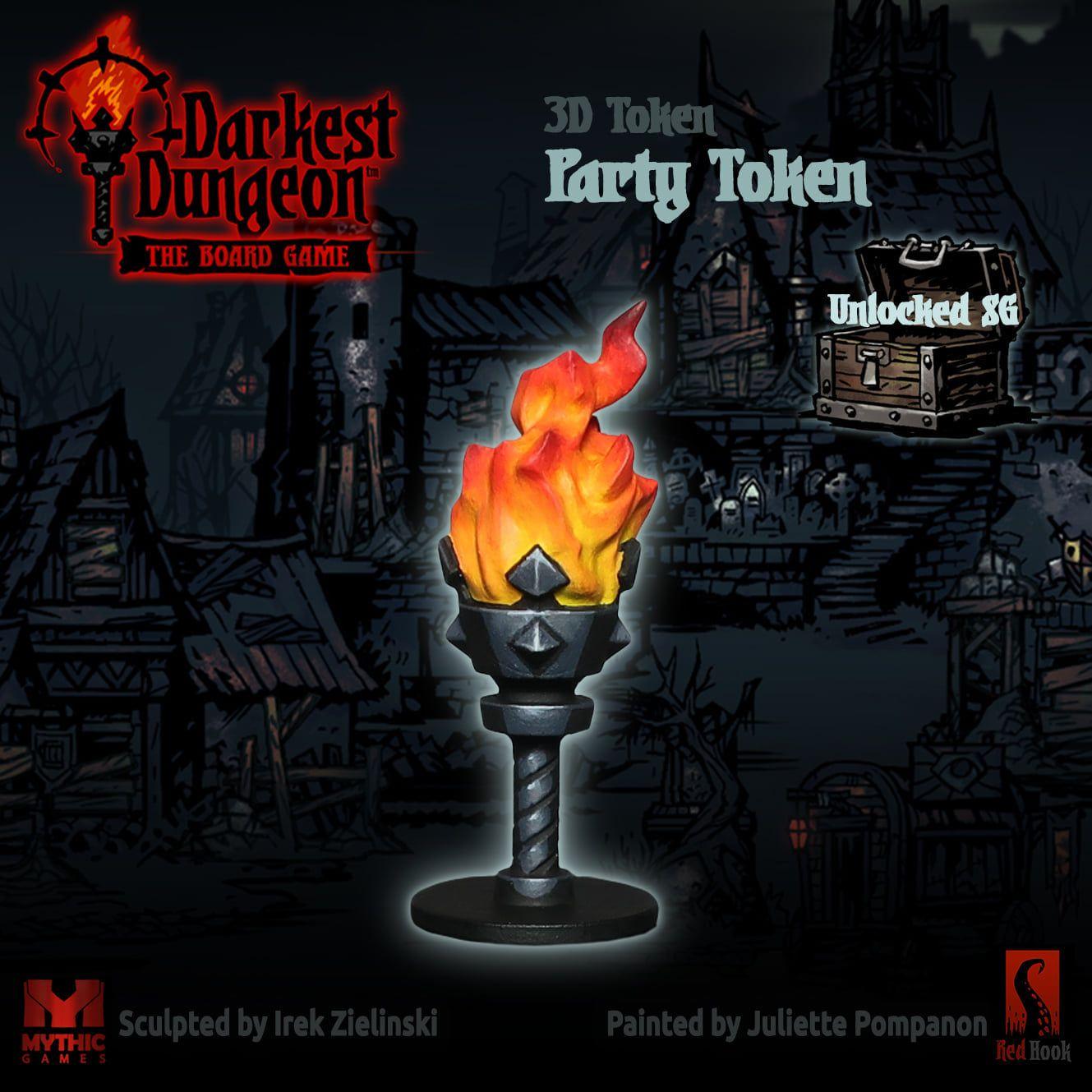 Party Token Darkest Dungeon Dark Dungeon