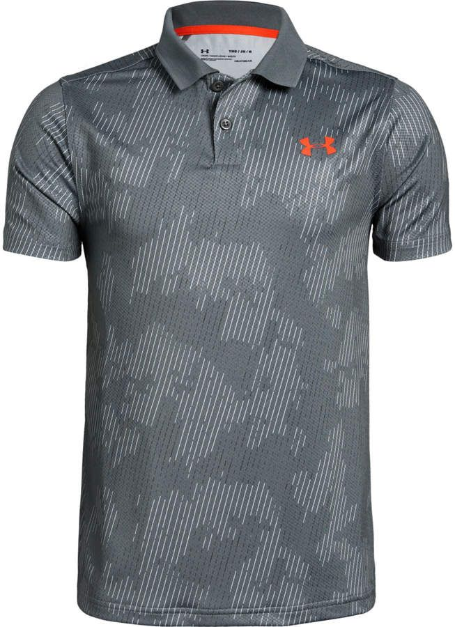 1b0e6c83 Under Armour Boys' UA Performance Polo Textured Printed in 2019 ...