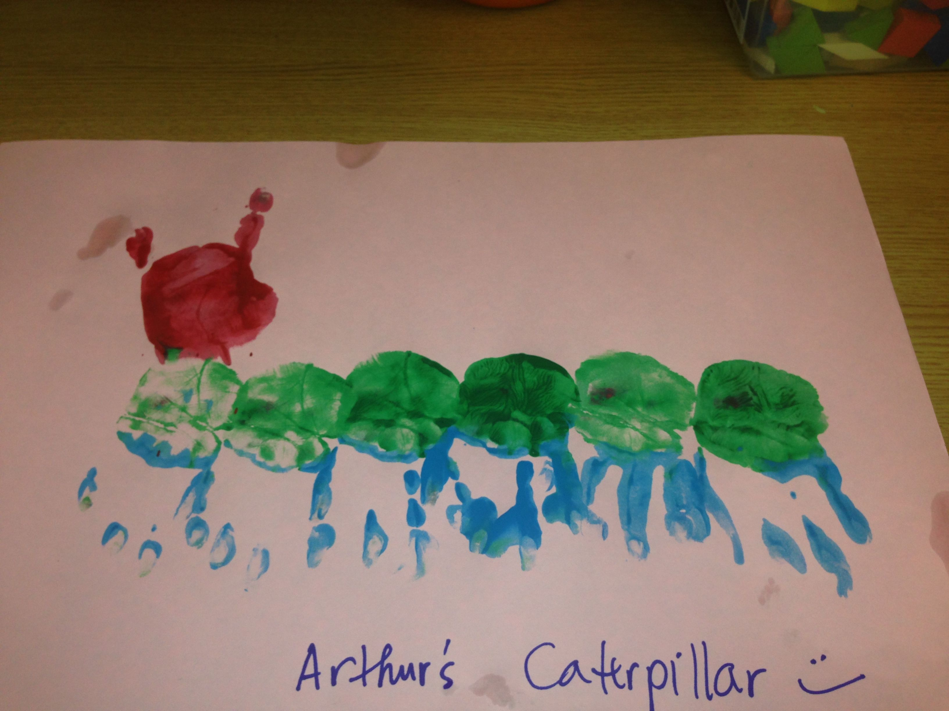 Arthur S Very Hungry Caterpillar Test Ever