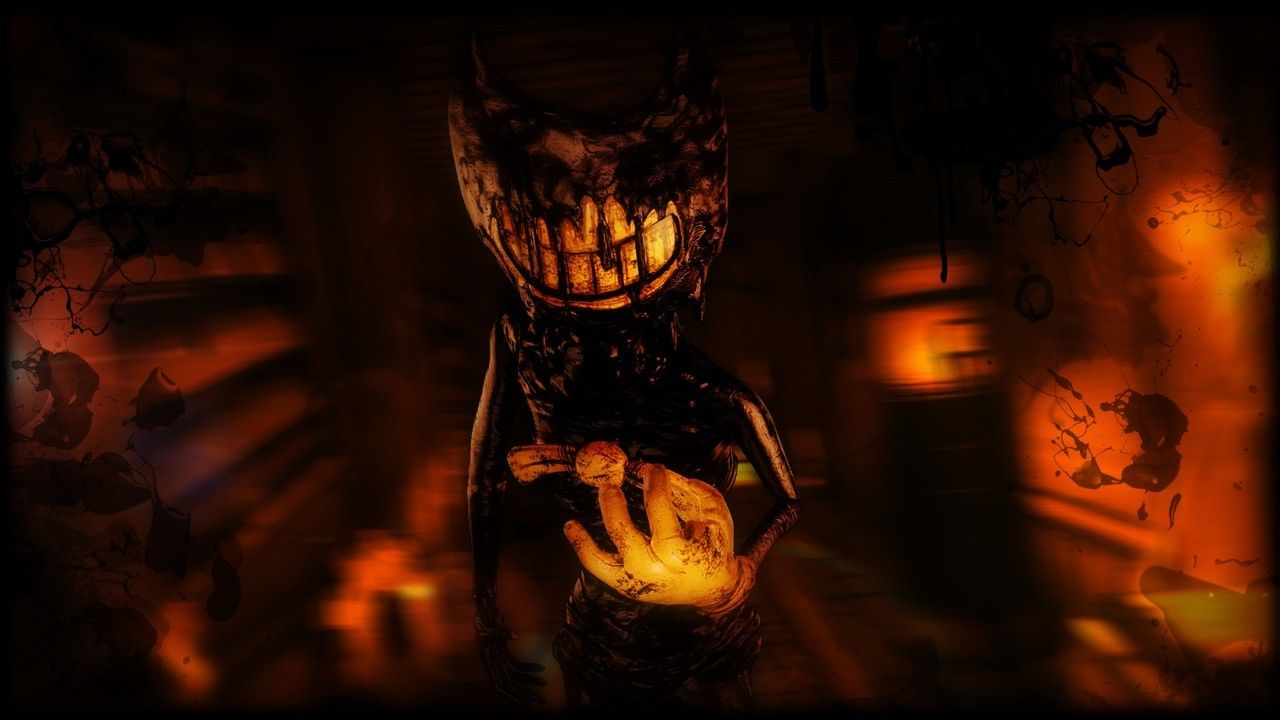 Sfm Yoink Ink Demon Wallpaper I Made Uwu Bendy And The Ink