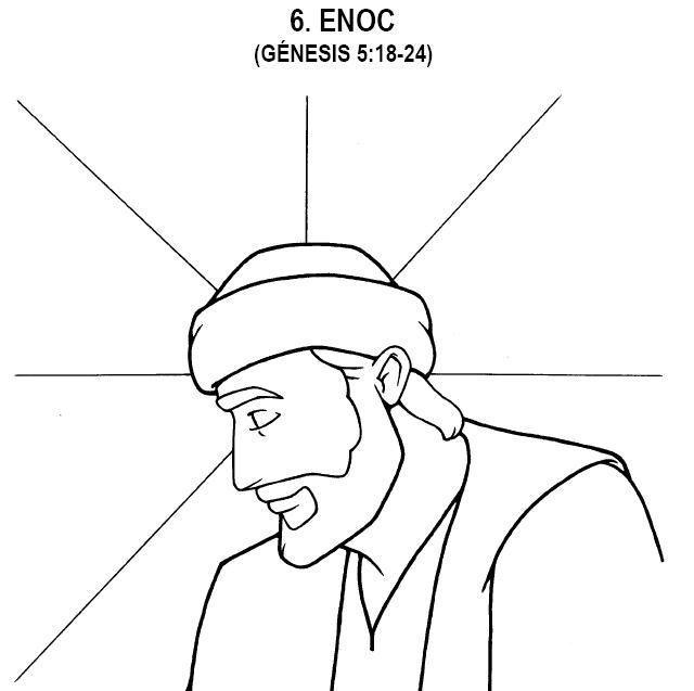 06. Lección Bíblica: Enoc - Dibujos de la biblia | Angeles para ...