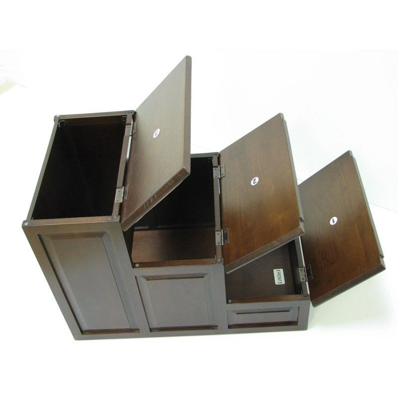 Designer Pet Steps With Storage, $191.95, Crown Pet Products